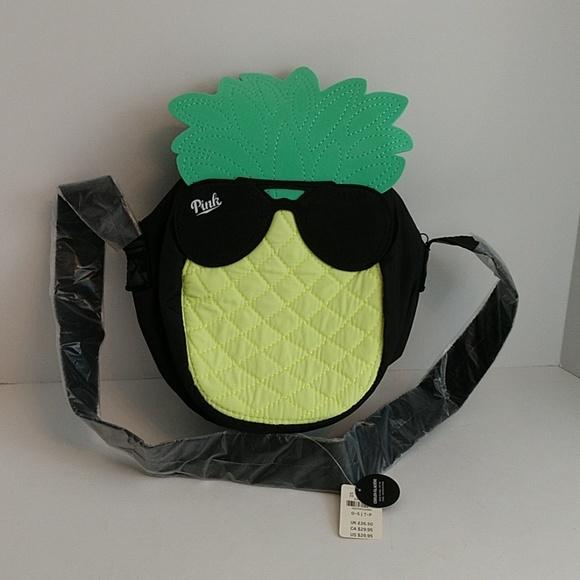 PINK Victoria's Secret Handbags - NWT  Pink Victoria's Secret pineapple shoulder bag